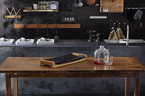 PRINCESS(プリンセス) テーブルグリルストーン/TableGrill Stone (ブラック) ホットプレート