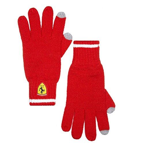[해외]페라리 2018 페라리 LS 니트 장갑 색상 : 레드/Ferrari 2018 Ferrari LS knit glove color: Red