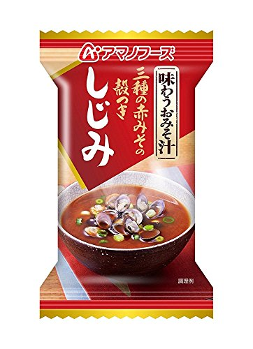 アマノフーズ  味わうおみそ汁 しじみ 17g×10個