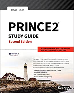 PRINCE2 Study Guide: 2017 Update by [Hinde, David]