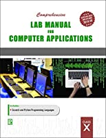 T10-8784-225-COMP.LAB MAN COMP APPL X [Paperback] LAXMI PUBLICATIONS