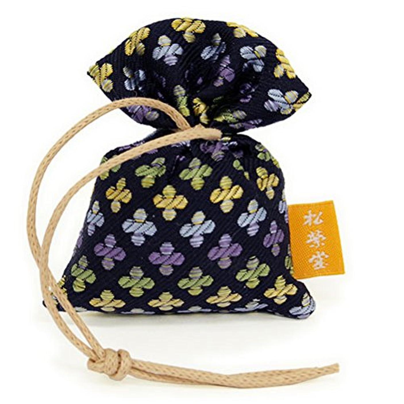 記念碑おとうさんグリーンバック匂い袋 誰が袖 薫 かおる 1個入 松栄堂 Shoyeido 本体長さ60mm (色?柄は選べません)