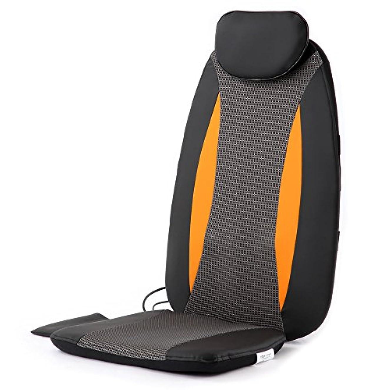 こどもの日中央宗教ぼん家具 マッサージチェア 椅子に置くだけ シートマッサージャー タイマー 折りたたみ 持ち運び可能