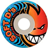 Spitfire Soft D'small 92d 54mm White Skate Wheels by Spitfire
