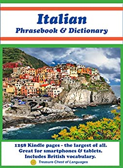 Italian Phrasebook & Dictionary by [Finocchiaro †, Donatella, Sgrò, Simona, Corica, Beatrice, Powers, Robert]