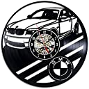 BMW車のビニールレコードのウォールクロック - BMW Car Vinyl Record Wall Clock - Decorate your home with Modern Art - Gift for men and women, girls and boys - Win a prize for a feedback