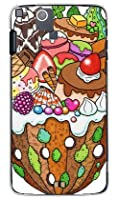 SECOND SKIN おかしのやま (クリア) design by 326 / for ARROWS μ F-07D/docomo  DFJF7D-PCCL-326-Y743
