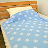 お昼寝ケット タオルケット 冷感素材 85×115cm (217-85115-NE ハリネズミ)