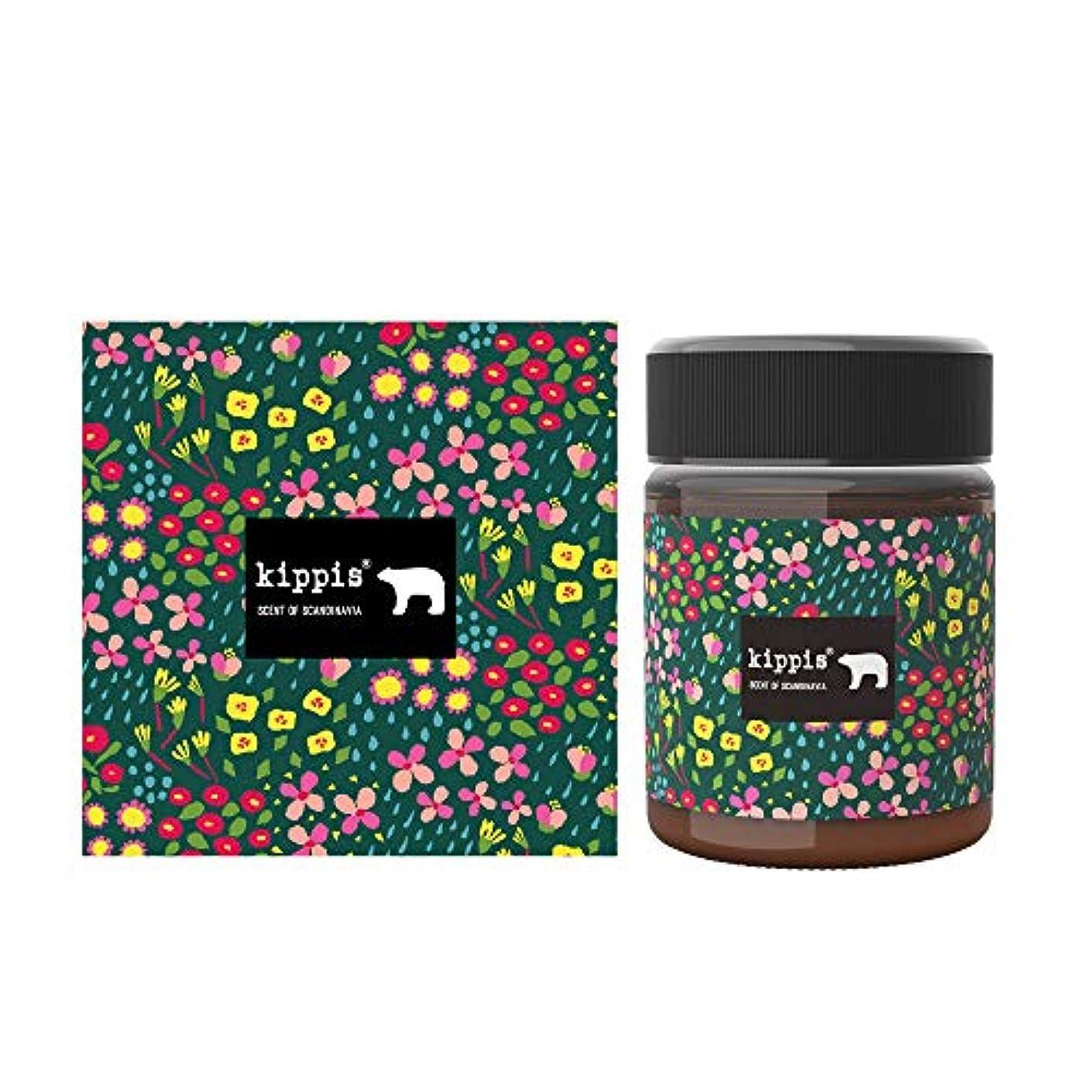 靴メモ熱望するキッピス 髪と肌のトリートメントワックス(風香る森の花々の香り)40g