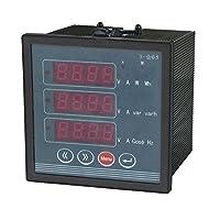 AC 380V 5AマルチファンクションLED表示電圧周波数計