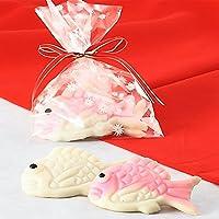 梅かま 飾りかまぼこ めちゃミニセレクション 可愛いペア鯛
