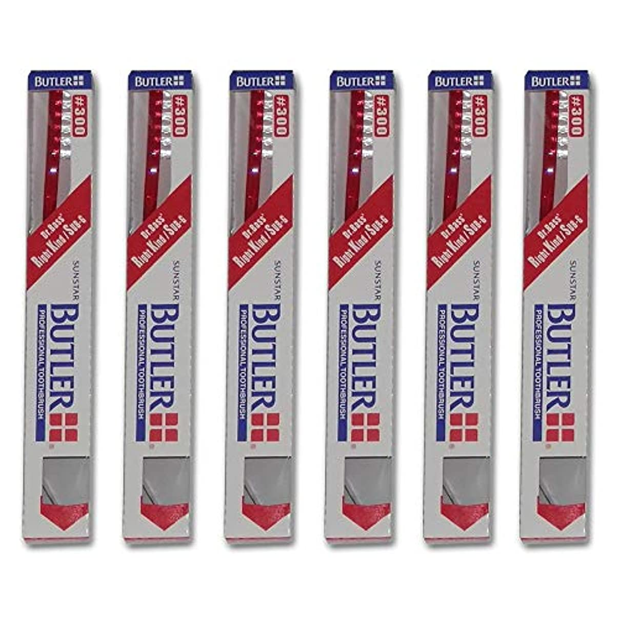 クローゼットホイッスルお祝いバトラー 歯ブラシ 6本 #300