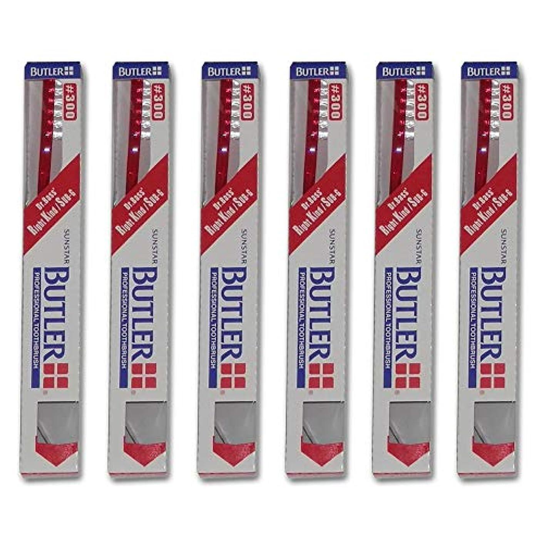 キラウエア山パントリー幸運バトラー 歯ブラシ 6本 #300