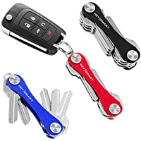 KeySmart Classic | Compact Key Holder and Keychain Organizer (2-14 Keys)
