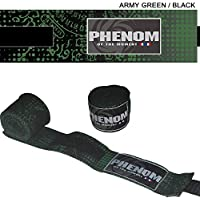 PHENOMフェノム サクヤン バンテージ アーミー×黒 400cm×5cm