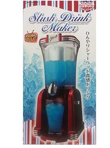 [해외]Slush drink Maker (슬래시 음료 업체) ~ 서늘한 셔벗 식감 음료 ~/Slush drink Maker (slash drink maker) ~ cool cool sherbet texture drink ~
