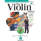 Play Violin Today!: A Complete Guide to the Basics Level 1 (Ultimate Self-Teaching Method!) Bk/Online Audio