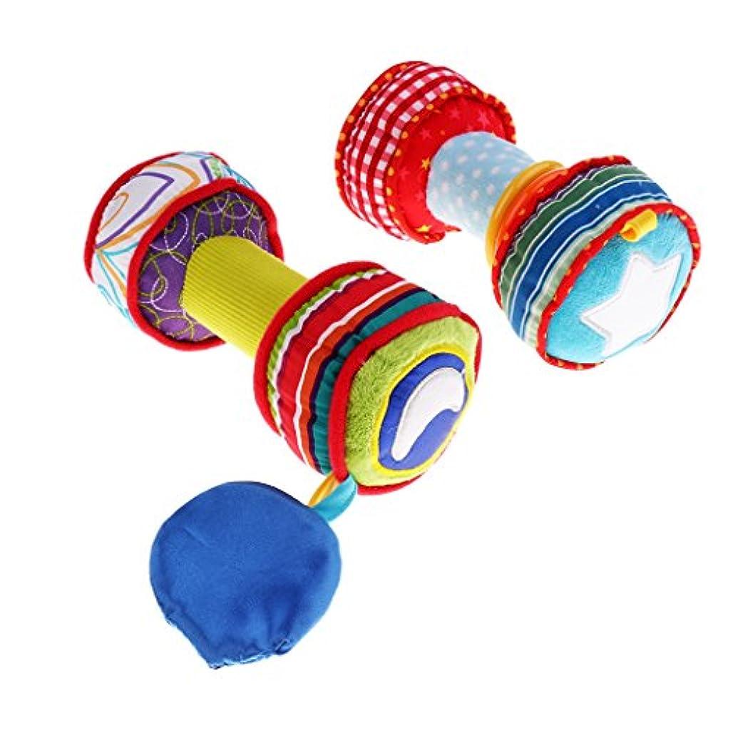 信頼性のあるアセンブリヒールぬいぐるみ ベビーおもちゃ ソフト ベッド カー 掛ける 全3種類  - ダンベル