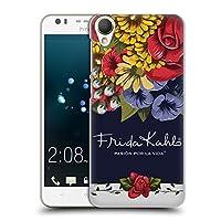 Official Frida Kahlo ブルーム レッド・フローラル ハードバックケース HTC Desire 10 Lifestyle