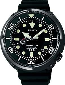 [セイコー]SEIKO 腕時計 PROSPEX プロスペックス MARINEMASTER マリンマスター ダイバーウオッチ ブライトチタン スプリングドライブ 最大巻上時約72時間持続 サファイアガラス 600m飽和潜水用防水 SBDB009 メンズ