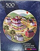 Bits & Pieces Country Springtime 500 Piece Puzzle [並行輸入品]