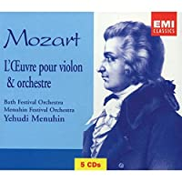 Mozart: Complete Works for Violin & Orchestra
