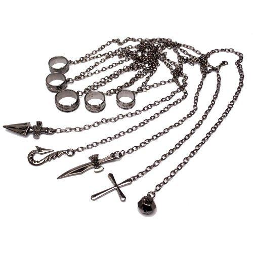 HUNTERxHUNTER クラピカ 五指の制約の鎖 コスチューム用小物