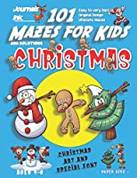 101 Mazes For Kids: SUPER KIDZ Book. Children - Ages 4-8 (US Edition). Cartoon Christmas Dabbing with custom art interior. 101 Puzzles with solutions - Easy to Very Hard learning levels -Unique challenges and ultimate mazes book for fun activity time! (Superkidz - Christmas 101 Mazes for Kids)
