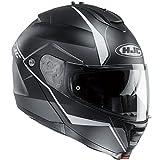 HJC(エイチジェイシー)バイクヘルメット システム ブラック/ホワイト(MC5SF) XL(61-62) IS-MAX2マイン HJH101
