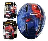 The Amazing Spiderman スパイダーマン 子供用ヘルメット プロテクターセット 並行輸入品