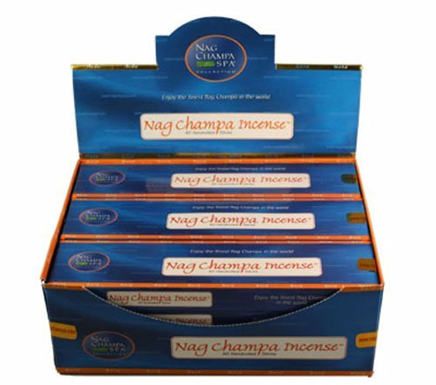 受け皿石移植Nag ChampaゴールドIncense 40スティックperボックス12ボックス