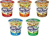 【Amazon.co.jp限定】 サッポロ一番 カップスター 12食(醤油6食、味噌3食、しお1食、とんこつ1食、カレーうどん1食)