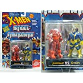 X-MEN スチールコレクション 2 ジャガーノートVSサイクロップス