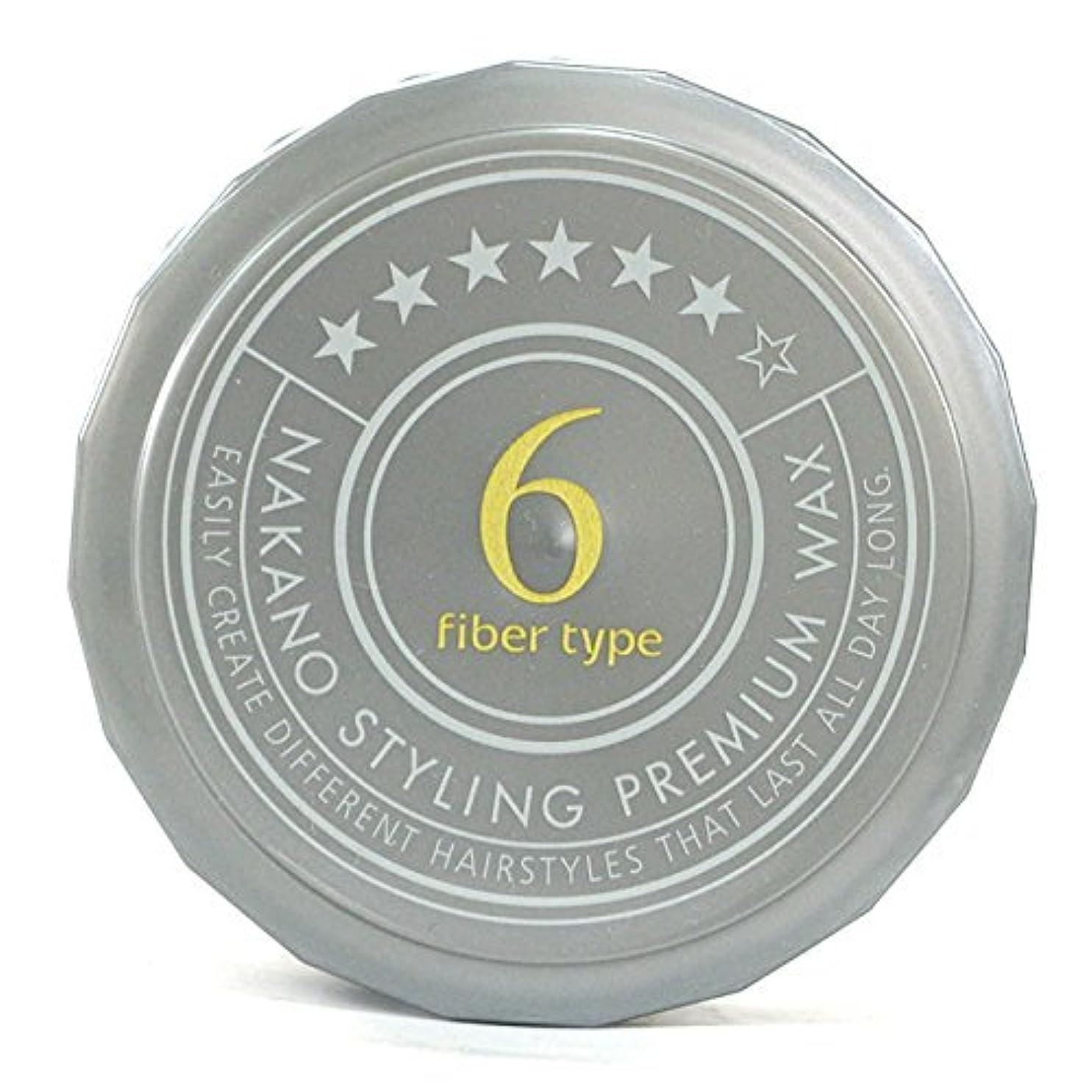 浴室はげかき混ぜるナカノ スタイリングプレミアムワックス 6 ウルトラスーパーハード 60g