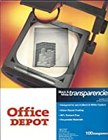 Office Depot ( R )普通紙コピー機透明度フィルム、100のパック