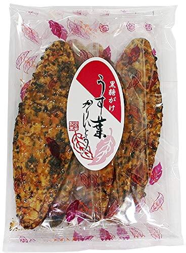 ゆかり堂製菓 黒糖がけうす葉かりんとう 4枚 ×10袋