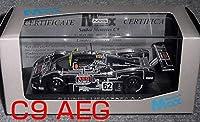 1/43 MAX ザウバーメルセデスC9 AEG 黒 62号車 Mercedes SAUBER