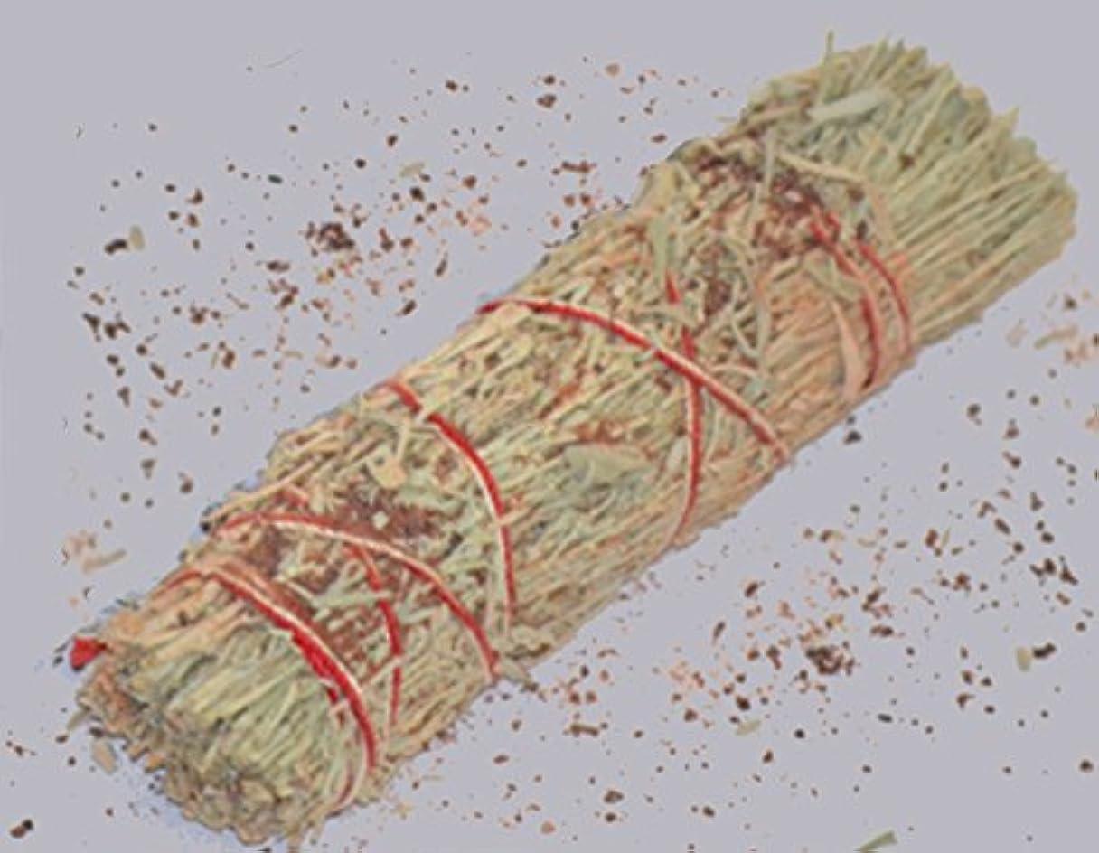 別に帰する軍隊3 – 4インチDragon 's Blood樹脂と山セージWand Smudgeバンドルクレンジング。Smudging、ハーブ、ウィッカ、Native American Sold by Sacred Tiger