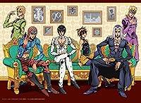 TVアニメ「ジョジョの奇妙な冒険 黄金の風」描き下ろしB2タペストリー「ブチャラティチーム」A