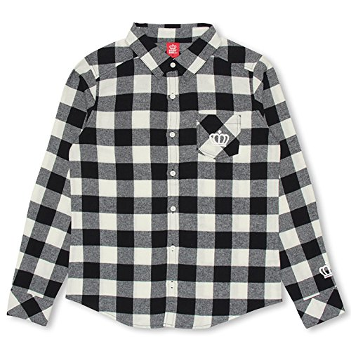 Baby Doll check long-sleeved shirt adult unisex