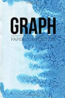 """Graph Paper Composition Notebook: Graph Paper 6"""" x 9"""" Artic Blue Design Quad Ruled 4x4,Grid Paper for school student,office,kids Notebooks"""