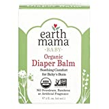 Organic Diaper Balm by Earth Mama | Safe Calendula Cream to Soothe and Protect Sensitive Skin, Non-GMO Project Verified, 2-Fluid Ounce (4-Pack)