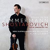 ドミトリ・ショスタコーヴィチ : ヴァイオリン協奏曲 第1番 & 第2番 (Shostakovich : Violin Concertos 1 & 2 / Frank Peter Zimmermann | NDR Elbphilharmonie Orchester | Alan Gilbert) [SACD Hybrid] [Live Recording] [輸入盤] [日本語帯・解説付]