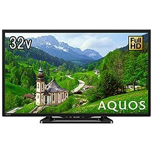 シャープ 32V型 液晶テレビ AQUOS LC-32E40 ハイビジョン 直下型LEDバックライト 外付HDD対応