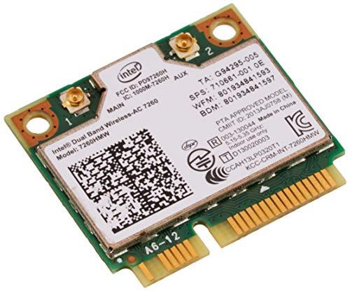 インテル デュアルバンド 高速 Wi-Fi 通信Band Wireless-802.11 AC Intel 7260 最大リング8...