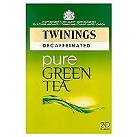 トワイニング緑茶は、パックごとに20をカフェインレス (x 4) - Twinings Green Tea Decaffeinated 20 per pack (Pack of 4) [並行輸入品]