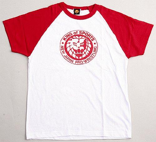 新日本プロレス キング・オブ・スポーツ クラシック Tシャツ (赤) M