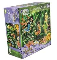 Disneysティンカーベルand the Great Fairy Rescue 63ピースLenticularパズル