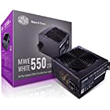 Cooler Master MWE 80Plus White 550W 230V 80Plus Single +12V Rail Silent Mode DC-to-DC Power Supply - Black - MPE-5501-ACABW-A