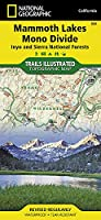 National Geographic Trails Illustrated Topographic Map Mammoth Lakes / Mono Divide, California: Inyo and Sierra National Forests (National Geographic Trails Illustrated Map)